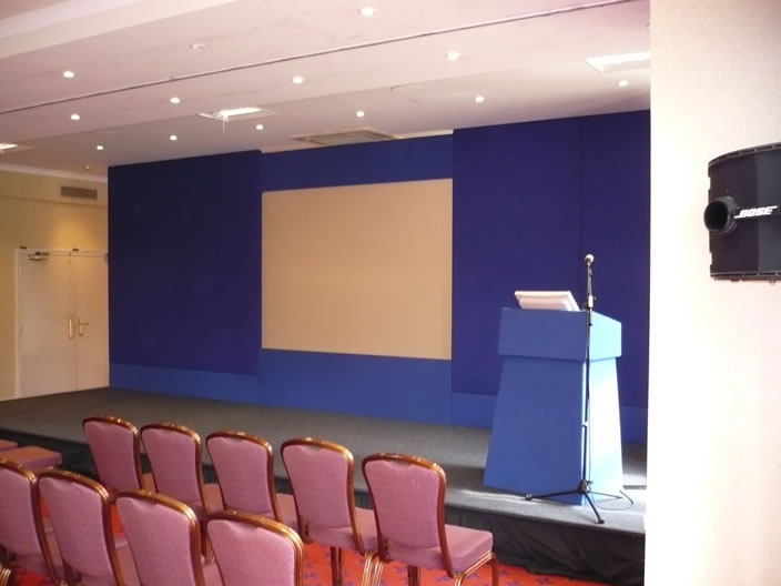 conference staging
